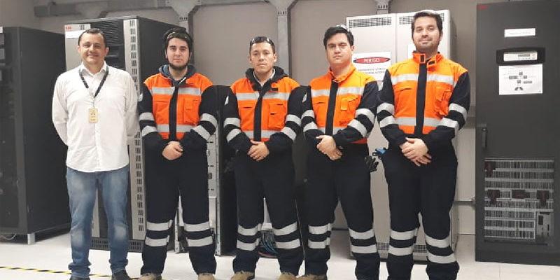 Entrenamiento de Ingenieros y Técnicos KOLFF en ABB Brasil